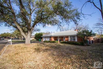 San Angelo TX Single Family Home For Sale: $199,000