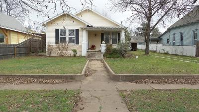 Ballinger Single Family Home For Sale: 702 N 9th St