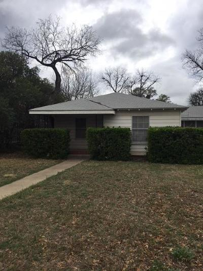 Single Family Home For Sale: 1215 Kenwood Dr