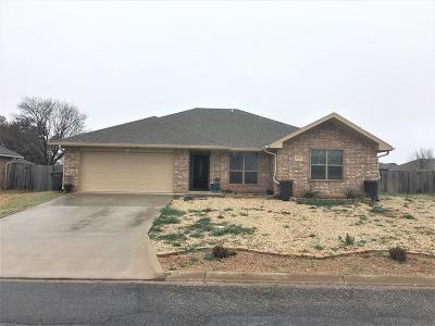 San Angelo Single Family Home For Sale: 6013 Lyndhurst Dr