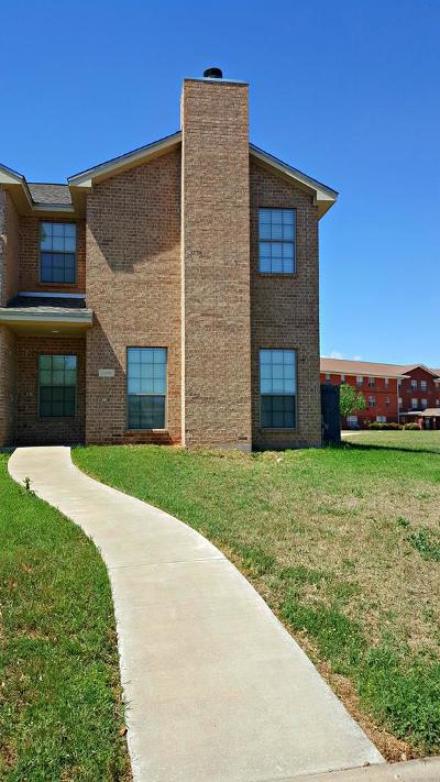 San Angelo Condo/Townhouse For Sale: 4405 Oak Grove Blvd