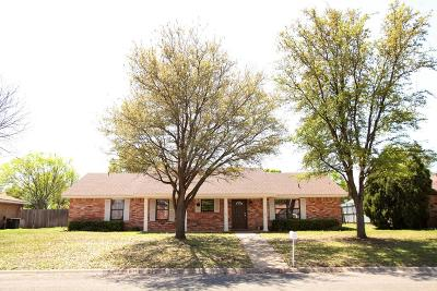 San Angelo Single Family Home For Sale: 5115 Green Valley Tr