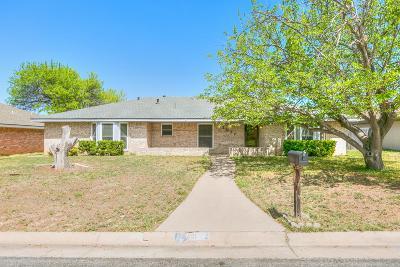 San Angelo Single Family Home For Sale: 3022 Timber Ridge Dr