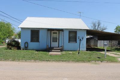 Ballinger Single Family Home For Sale: 905 Eubank