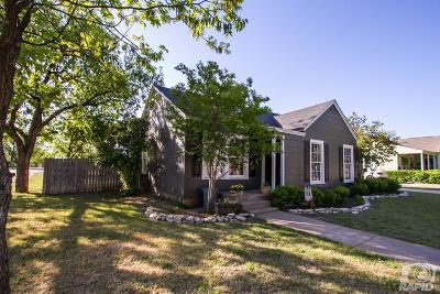 Ballinger Single Family Home For Sale: 401 Hamilton Avenue