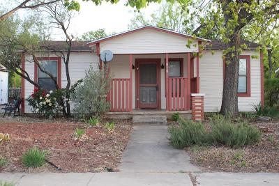 San Angelo Single Family Home For Sale: 618 Pulliam St