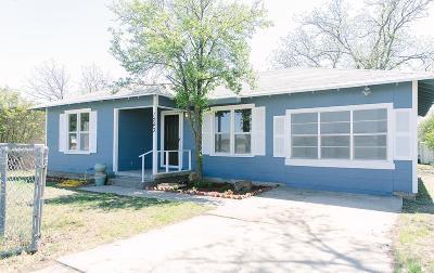 San Angelo Single Family Home For Sale: 1243 E 22nd St