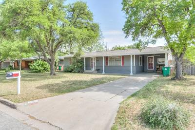 San Angelo Single Family Home For Sale: 2607 Yale Ave