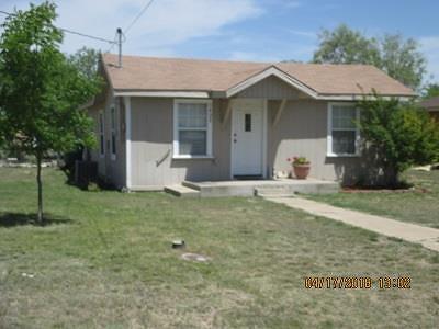 San Angelo Single Family Home For Sale: 1402 Spaulding St
