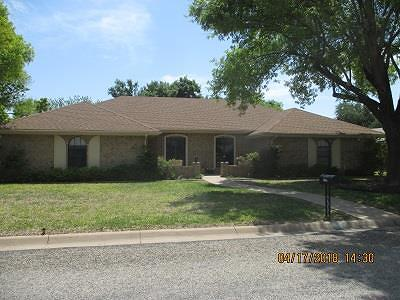San Angelo TX Single Family Home For Sale: $219,900