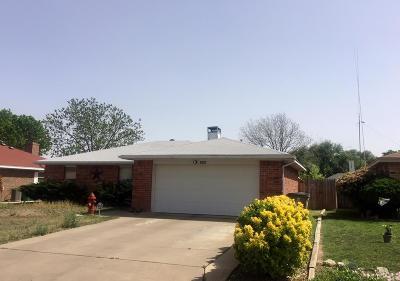 San Angelo Single Family Home For Sale: 1645 Idaho Ave