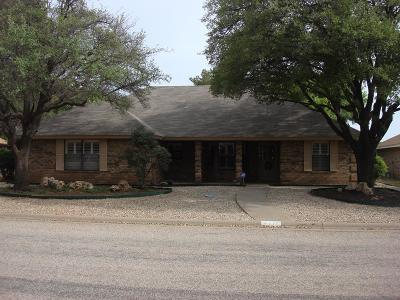 San Angelo Single Family Home For Sale: 4110 Shefflera Dr