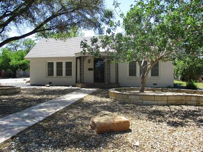 San Angelo Single Family Home For Sale: 1529 S Madison St