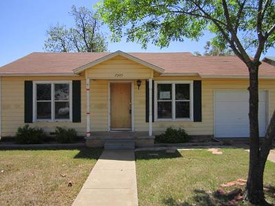 San Angelo Single Family Home For Sale: 2305 Guadalupe St