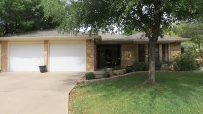 San Angelo TX Single Family Home For Sale: $294,000