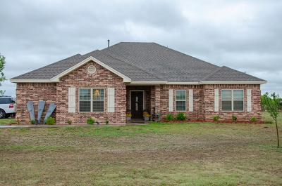 San Angelo Single Family Home For Sale: 12001 Old Mill Rd
