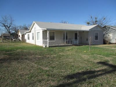 San Angelo Single Family Home For Sale: 1880 Guadalupe St