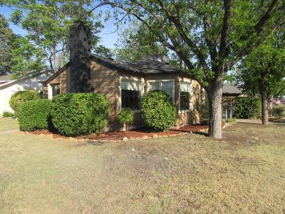 San Angelo TX Single Family Home For Sale: $142,000