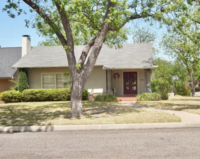 San Angelo TX Single Family Home For Sale: $319,900