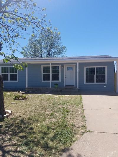 San Angelo TX Single Family Home For Sale: $123,000