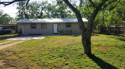 San Angelo TX Single Family Home For Sale: $195,000
