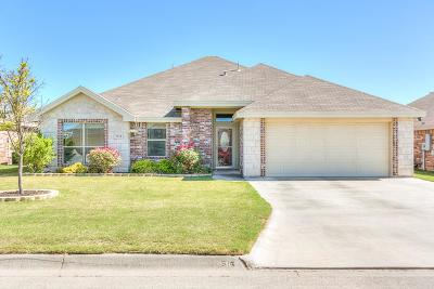 San Angelo Single Family Home For Sale: 3934 Caroline Ln