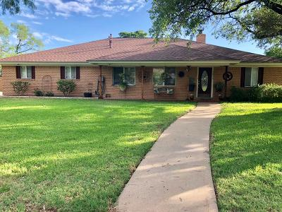 San Angelo Single Family Home For Sale: 2824 Vista Del Arroyo