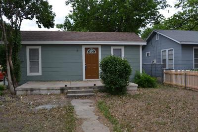 San Angelo Single Family Home For Sale: 1833 Bailey St