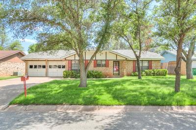 San Angelo Single Family Home For Sale: 3913 Inglewood Dr