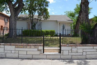 San Angelo Single Family Home For Sale: 212 N Magdalen St