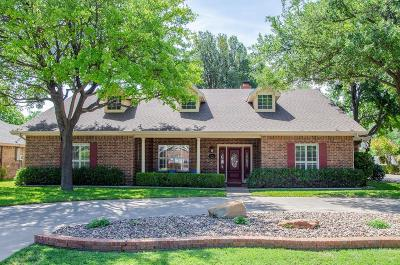 San Angelo Single Family Home For Sale: 6062 Winners Circle