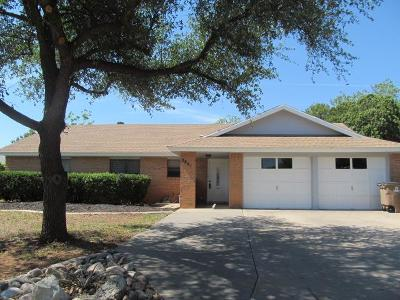 San Angelo Single Family Home For Sale: 3841 Inglewood Dr