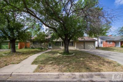 San Angelo Single Family Home For Sale: 3219 Tanglewood Dr