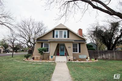 San Angelo Single Family Home For Sale: 223 S Jefferson St