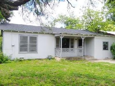 San Angelo Single Family Home For Sale: 2923 Travis St