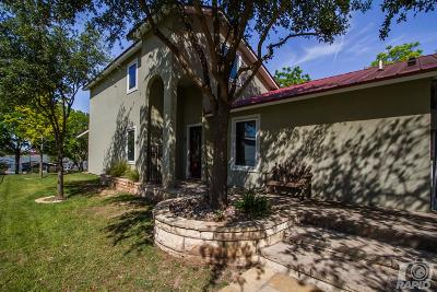 San Angelo Single Family Home For Sale: 3013 Red Bluff Circle