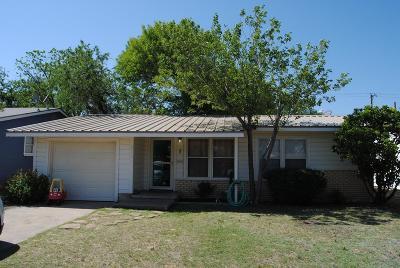 San Angelo Single Family Home For Sale: 2510 W Harris Ave