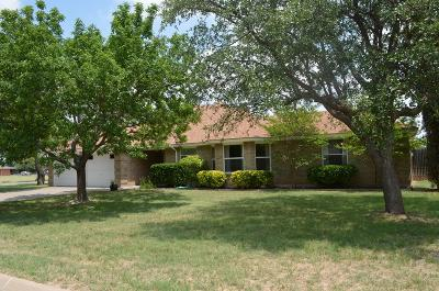 San Angelo Single Family Home For Sale: 6230 Wrangler Lane