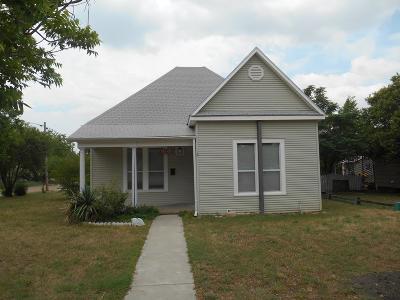 Ballinger Single Family Home For Sale: 1301 N 7th St