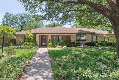 San Angelo Single Family Home For Sale: 3305 Shadyhill Dr