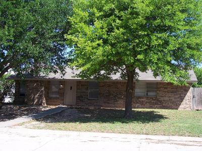 San Angelo Single Family Home For Sale: 1326 Tres Rios Dr
