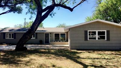 San Angelo Single Family Home For Sale: 2457 Oxford Ave