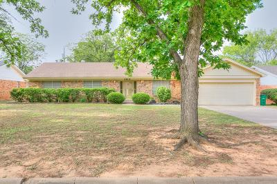 San Angelo Single Family Home For Sale: 2913 Oak Forest Dr