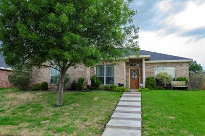 San Angelo Single Family Home For Sale: 6017 Maravillas St