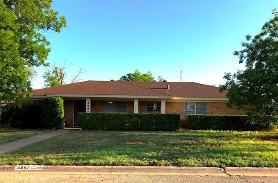 San Angelo TX Single Family Home For Sale: $179,900