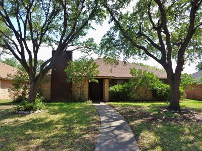 San Angelo Single Family Home For Sale: 3521 Ridgecrest Lane