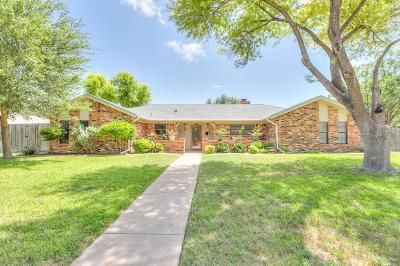 San Angelo Single Family Home For Sale: 3217 Briargrove Lane