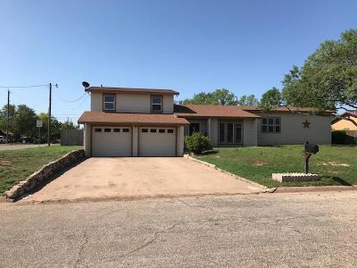 San Angelo Single Family Home For Sale: 327 E 44th St