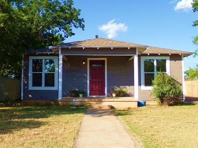 Ballinger Single Family Home For Sale: 504 N 5th St