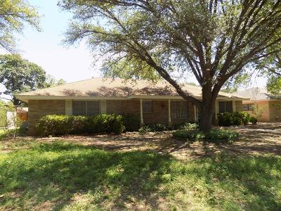 San Angelo Single Family Home For Sale: 3218 Sierra Dr